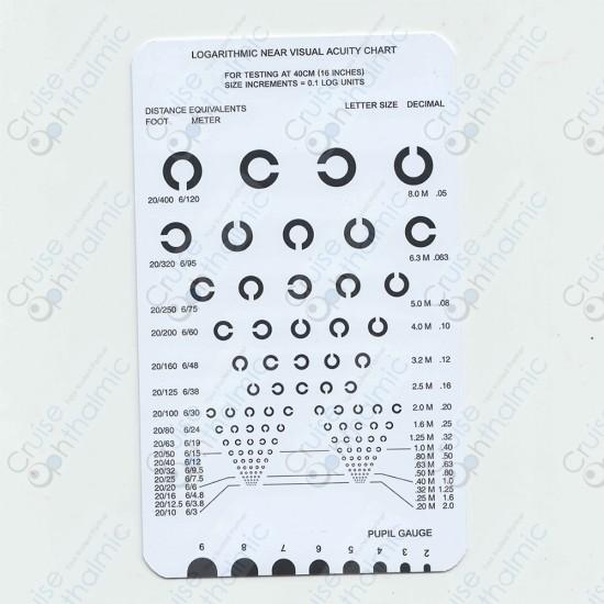 Pocket Near Vision Card A19