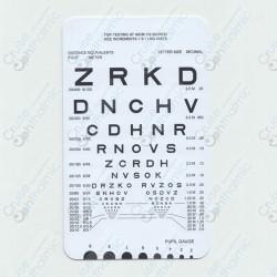 Pocket Near Vision Card A24