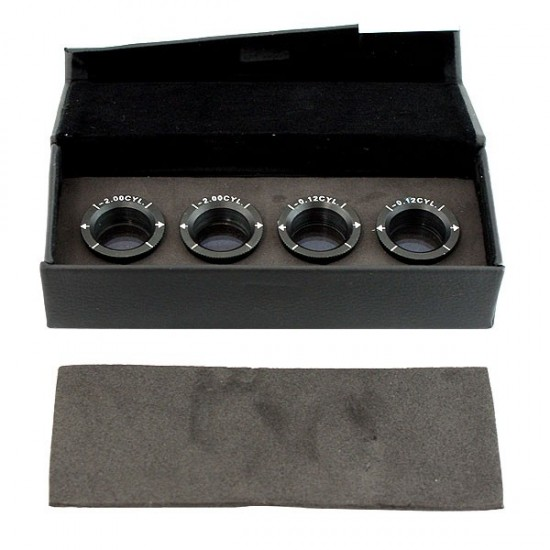 4 Accessories Lens with Box (Phoropter)