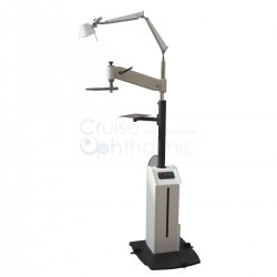 Heavy Dust Phoropter Projector Light Stand/Pole With Lamp