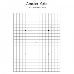Near Vision Chart - Almser Grid Chart NV200