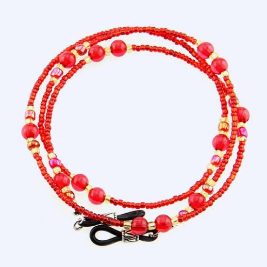 6 pcs/lot Bead Eyeglasses Chain 1.67mm Dia