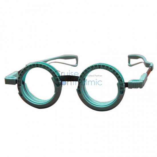 Light Weighted Full Rim Silicon Trial Frame TF5670F