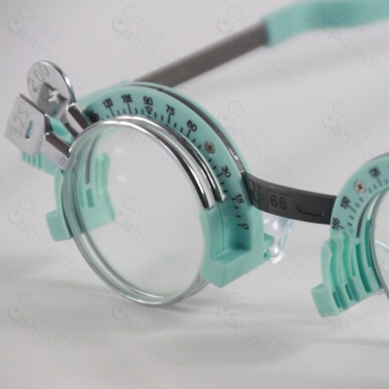 Light Weighted Half Rim Silicon Trial Frame TF5866H