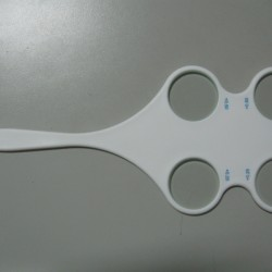 Custom Plastic Optometry Flipper