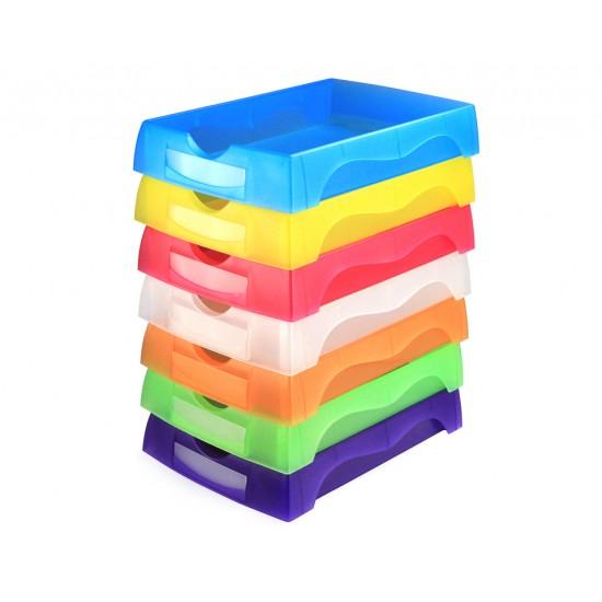 7 pcs/ Lot Job Tray 006S 45mm Height - Random Color
