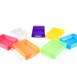7 pcs/ Lot Job Tray 006SL 55mm Height - Random Color