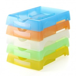 5 pcs/ Lot Job Tray 007LS 42mm Height - Random Color