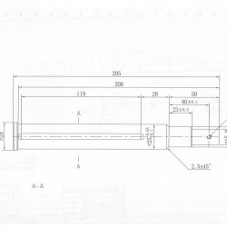 Phoropter and Projector Wall Mounting Platform crjg1