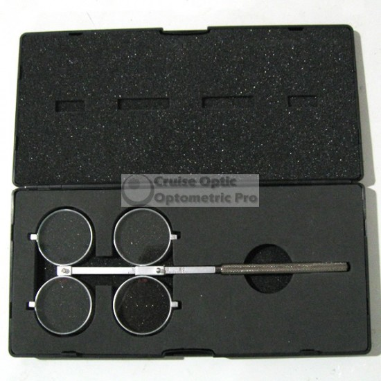 Premium Adjustable Metal Optometry Flipper