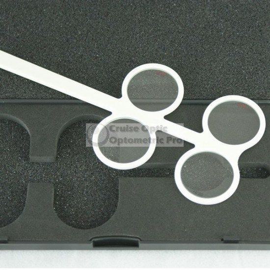 Premium Fixed Plastic Optometry Flipper