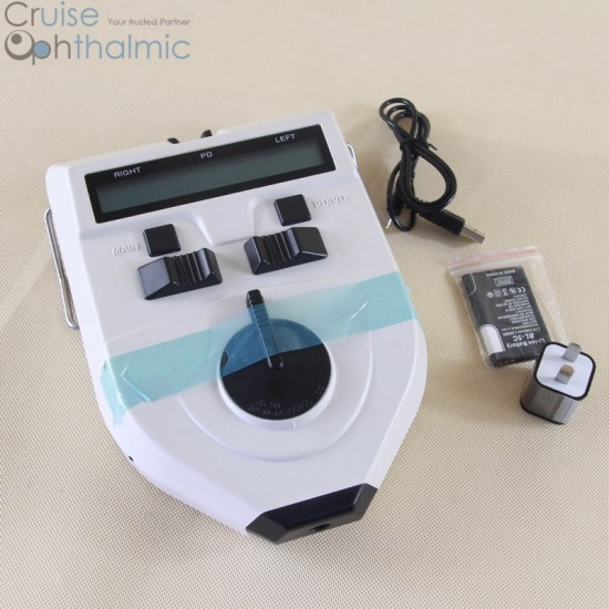 Rechargeable Slider Pupilometer Lithum Battery PD32T